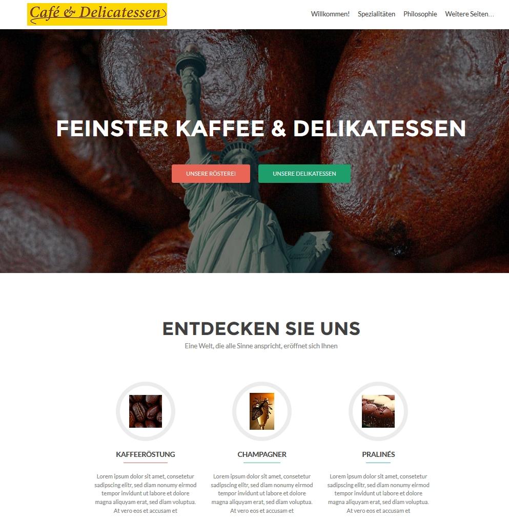 Café & Delikatessen Demo https.//Fengler.IT