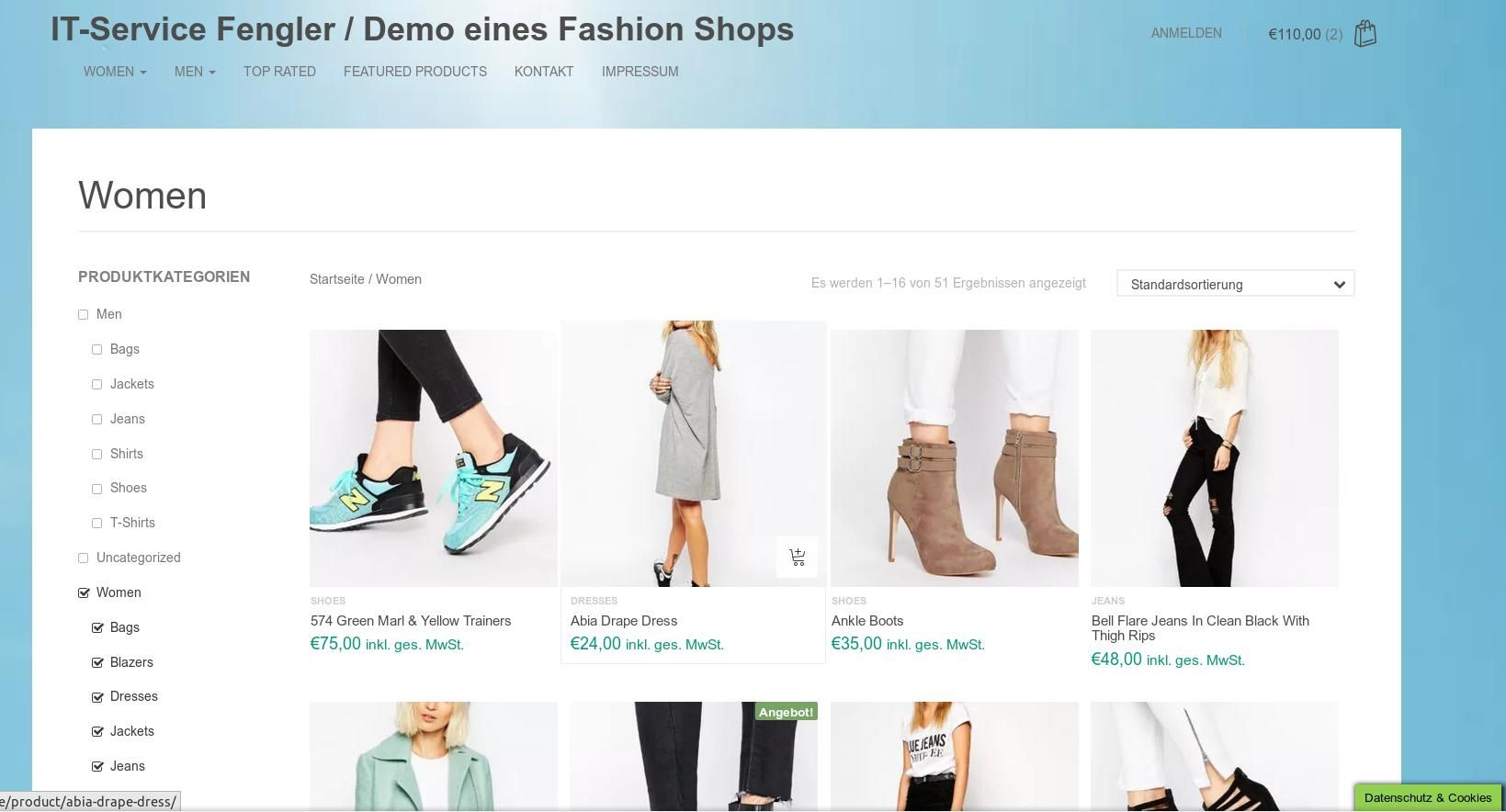 Webshop Onlineshop