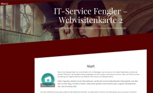 Webvisitenkarte https:/Fengler.IT