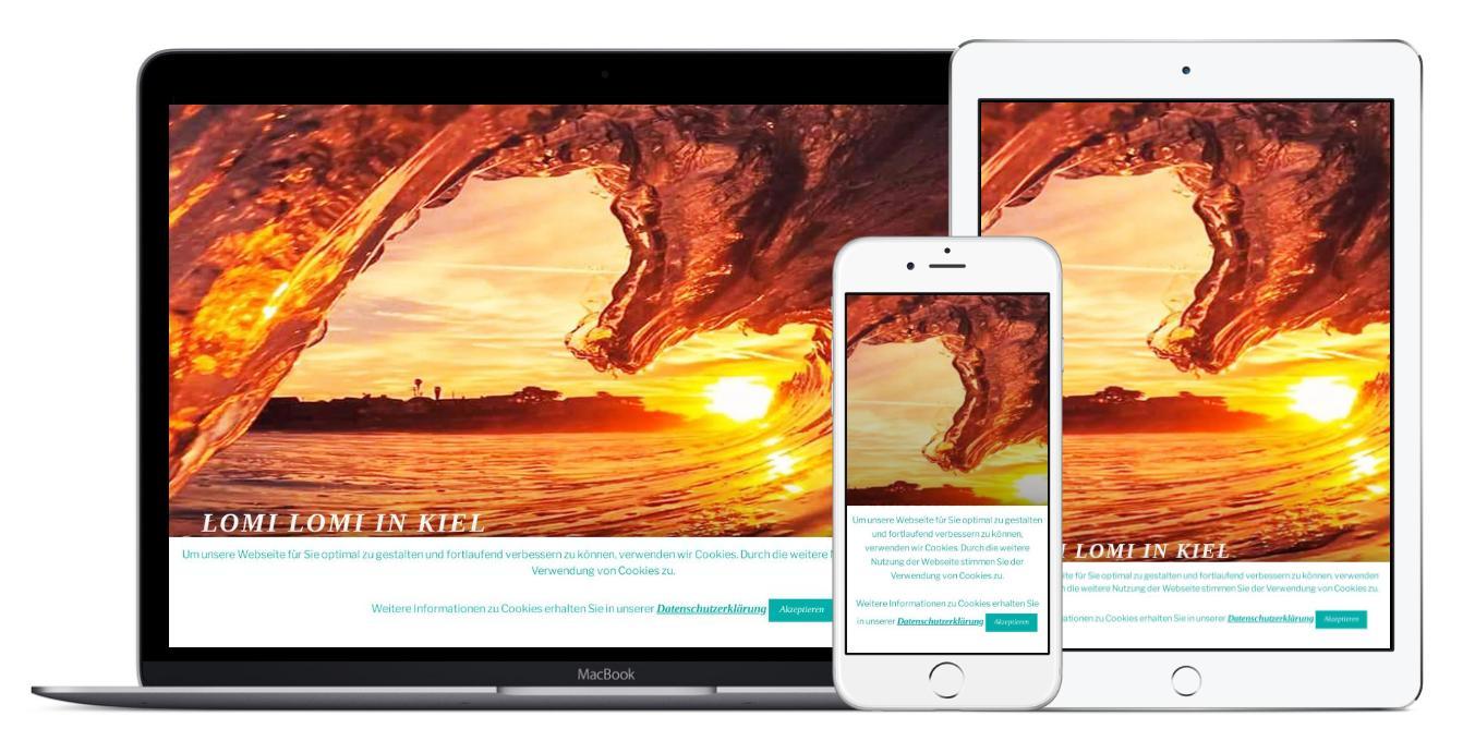 https://lomi-lomi-kiel.de Vollständiges Webdesign, Umsetzung und Hosting, sowie Fotoerstellung + -bearbeitung